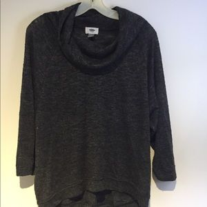 Sweaters - Cowl neck gray sweater